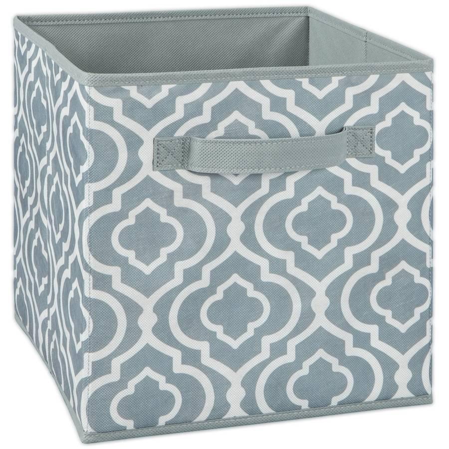 ClosetMaid Fabric Drawer Iron Gate Grey  sc 1 st  Walmart.com & Storage Baskets u0026 Bins - Walmart.com