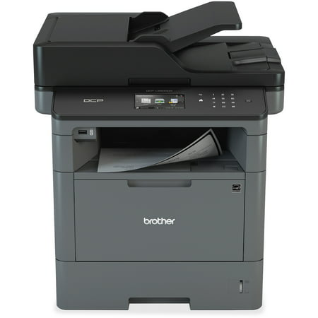 Brother Monochrome Laser Multifunction Copier and Printer, DCP-L5500DN, Flexible Network Connectivity, Duplex Printing, Mobile Printing & Scanning