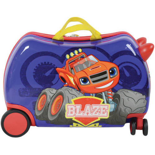 Nickelodeon Blaze Ride On Cruizer Luggage