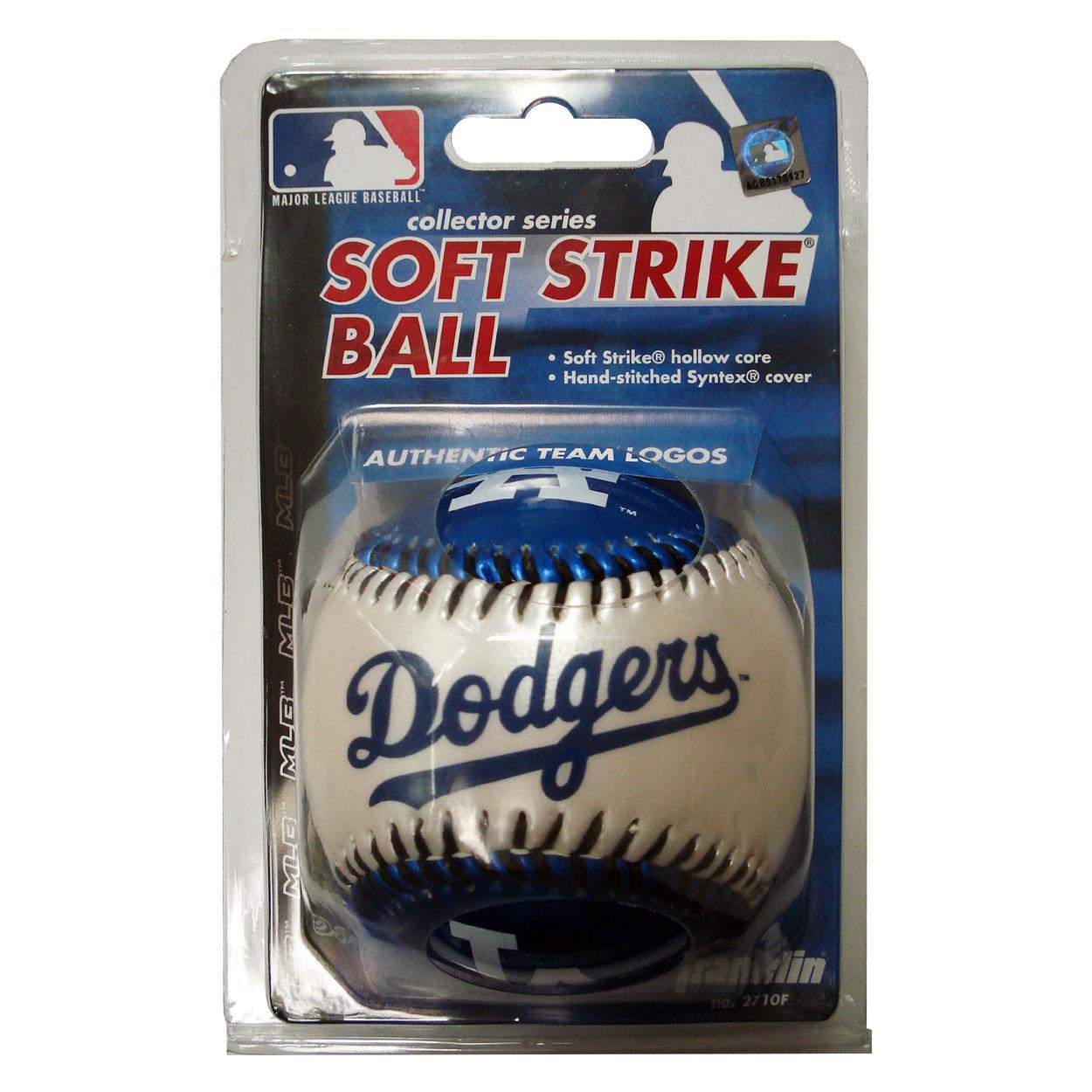 Franklin Soft Strike Baseball - Los Angeles Dodgers Los Angeles Dodgers FRANBBLADBB