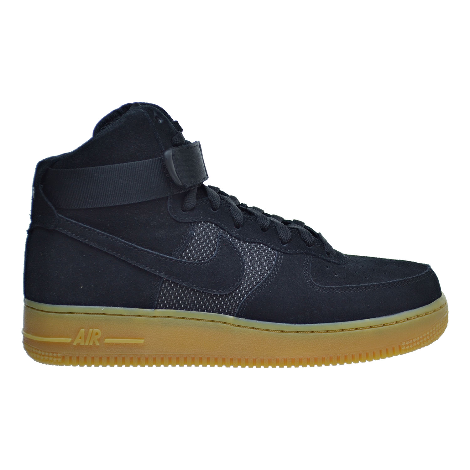 Nike Air Force 1 High '07 LV8 Men's Shoes Black/Black/Gum...