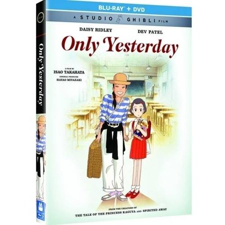 Only Yesterday  Blu Ray   Dvd