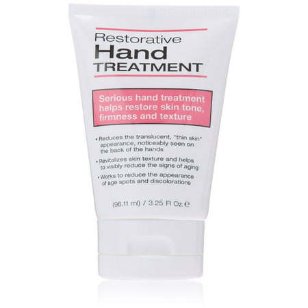 Dermactin - TS Restorative Hand Treatment 3.25 oz. - for Soft & Supple Hands, Revitalizes Skin Texture, Visibly Reduces Signs Of Aging, Deeply Moisturizes & Repairs Driest