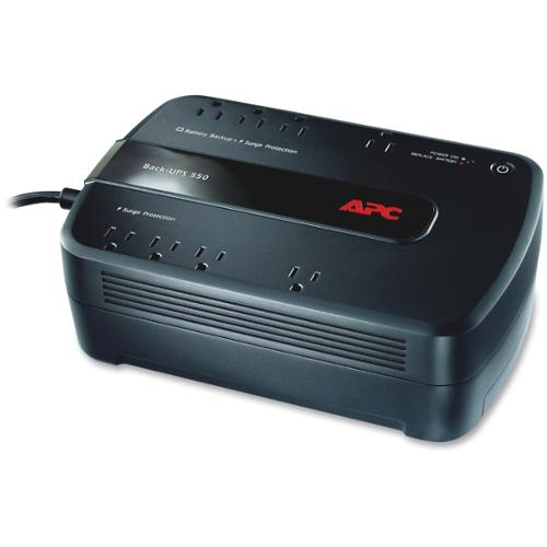 APC Back-UPS 650 Battery Backup & Surge Protector for Electronics and Computers