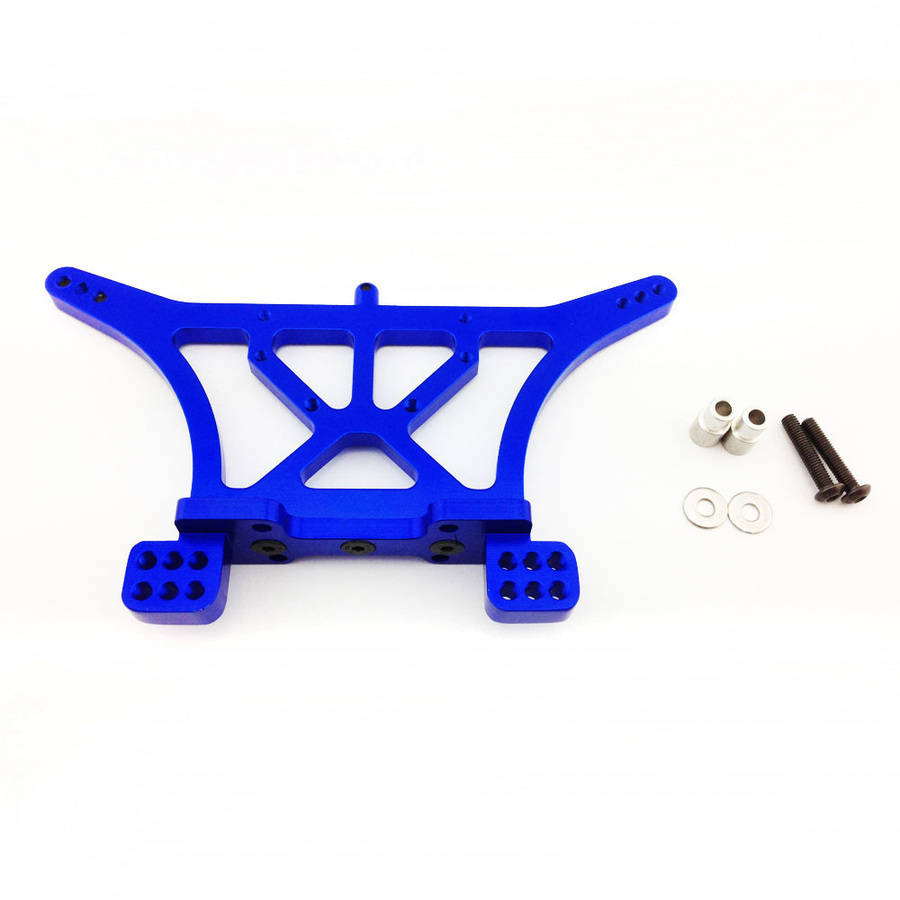Atomik Alloy Rear Shock Tower Traxxas Slash 2WD, 1:10, Blue