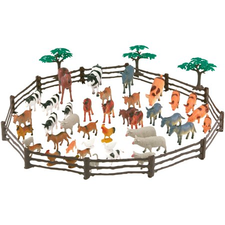 Adventure Force 50-Piece Animal Jumbo Bucket, Assorted Collections