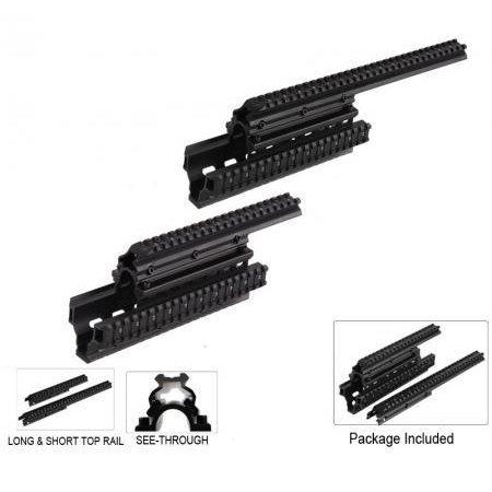 Saiga 12 & 20 Tactical Quad Rail System. Universal