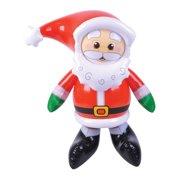 "24"" Inflatable Blow Up Christmas Yard Lawn Santa Decoration"