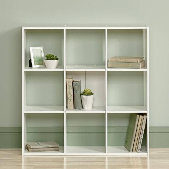 ravishing better homes and gardens bookcase. Sauder Organizer Bookcase  Soft White Walmart com