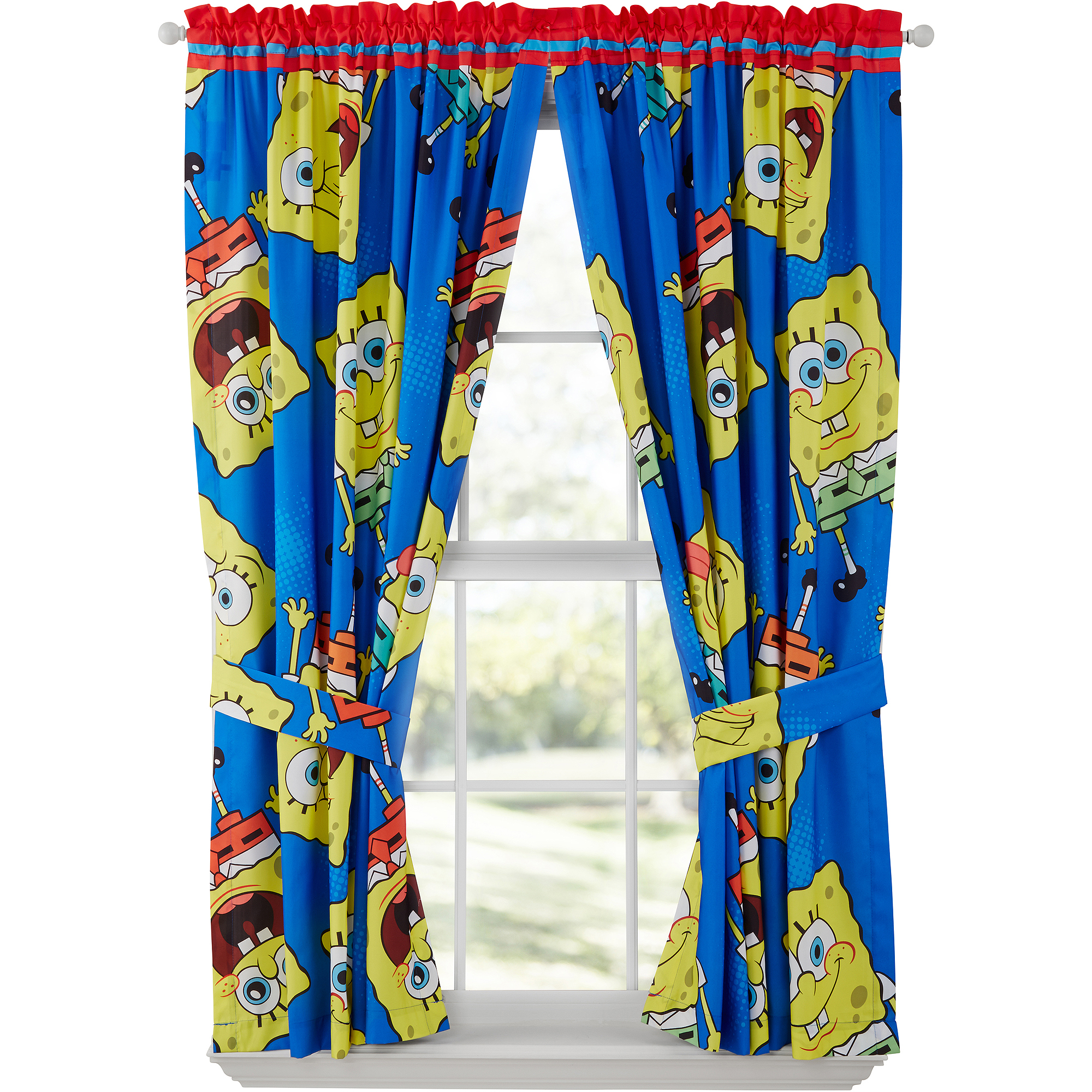 SpongeBob SquarePants Drapes, Set of 2