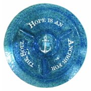 """Tray-Round-Chip And Dip-Nautical-Hope Anchors Soul (15"""")"""