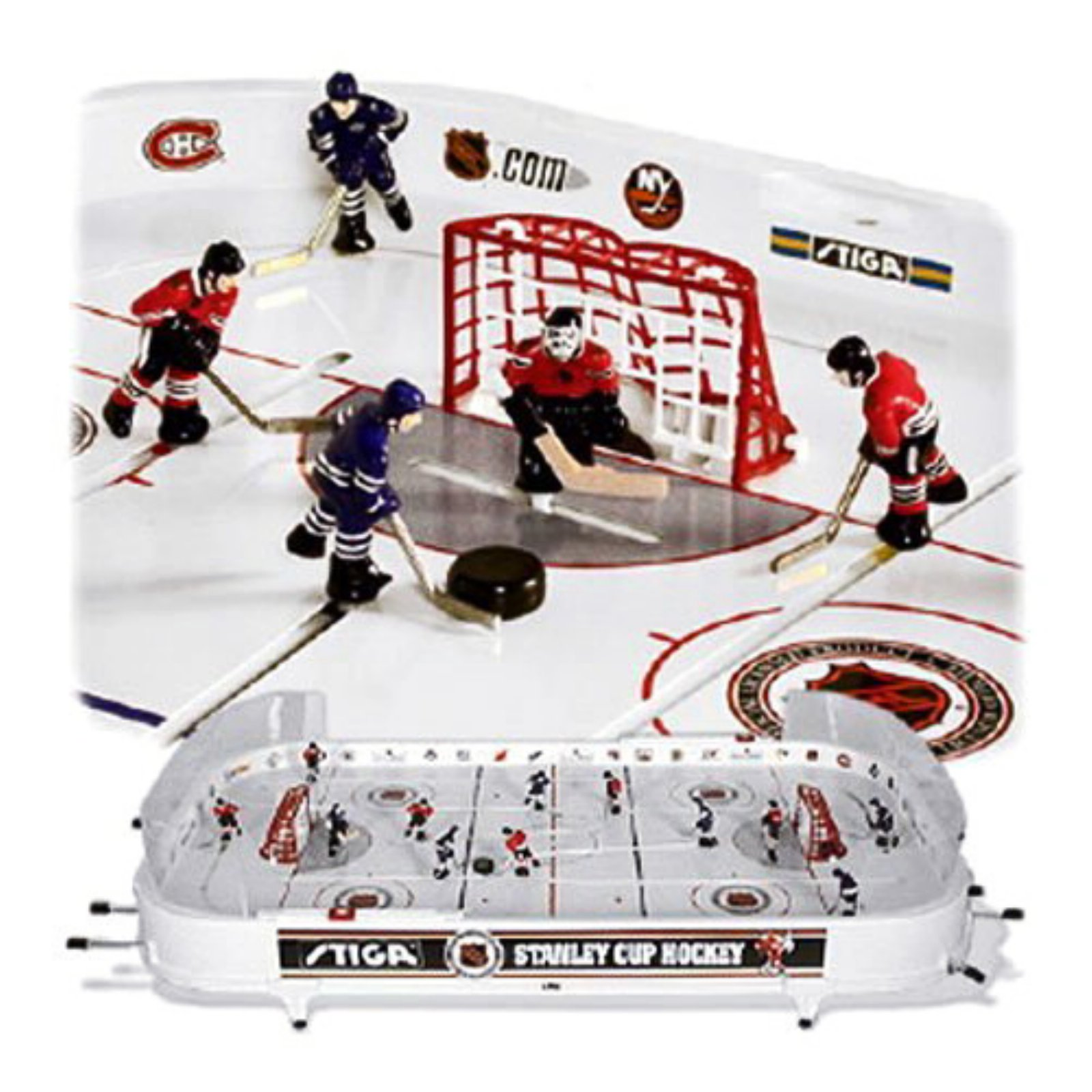 Stiga 37 in. NHL Stanley Cup Rod Hockey Table Top Game - Walmart.com