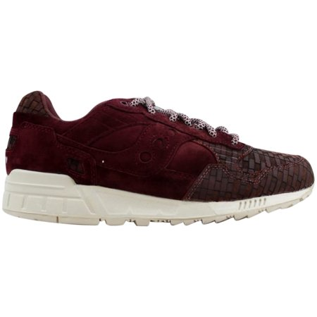 size 40 669a8 4b3aa Saucony Shadow 5000 Maroon Bricks S70339-1 Men's Size 7.5