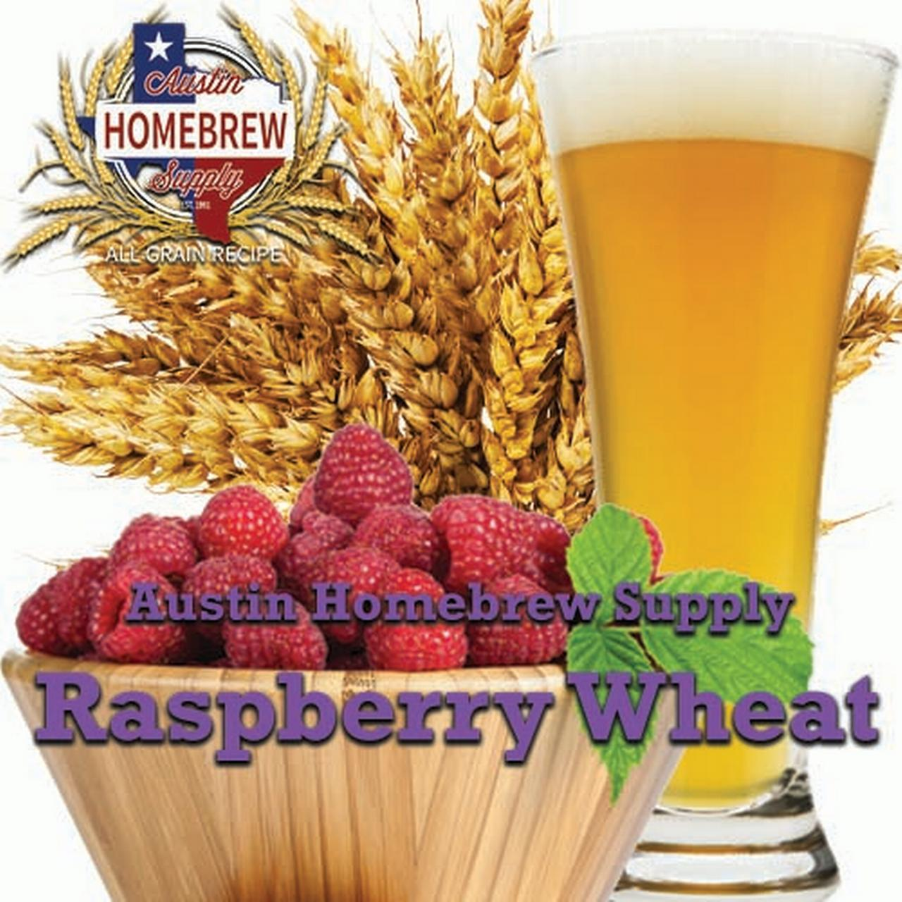 Austin Homebrew Raspberry Wheat (20) - ALL GRAIN