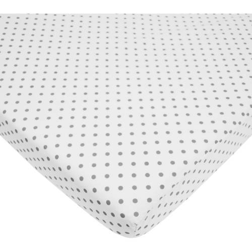 American Baby Company 100 Percent Cotton Percale Fitted Mini Crib Sheet