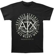 Avenged Sevenfold Men's  This Means War Slim Fit T-shirt Black