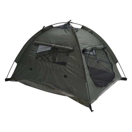 Pawhut Outdoor Pop-Up Camping Tent Dog Shelter