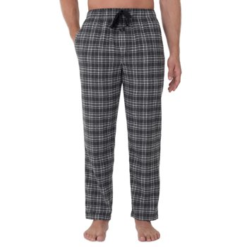 George Men's Plaid Woven Flannel Sleep Pants