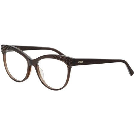 MCM Women's Eyeglasses 2643R 2643/R 210 Brown Full Rim Optical Frame (Full Rim Metal Eyeglasses Frame)