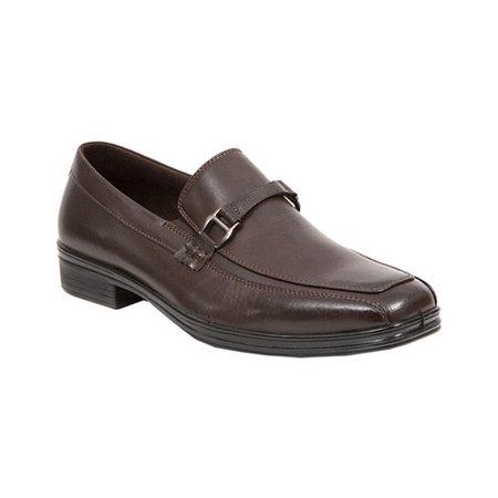 12 Brown Mens Loafers (Deer Stags Mens Colby Dress Loafers & Slipons )