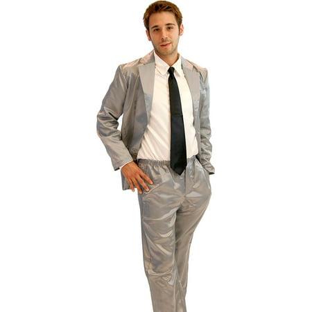How I Met Your Mother 4 Piece Silk Suit Mens Pajama - Walmart.com 3b8efd140