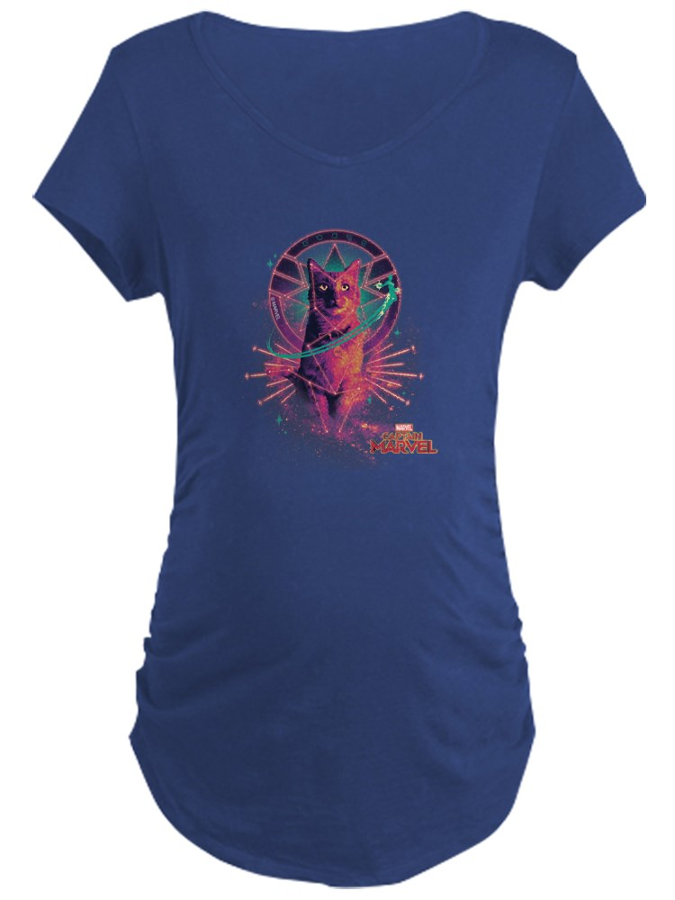 CafePress - Captain Marvel Goose The Maternity Dark T Shirt - Maternity Dark T-Shirt