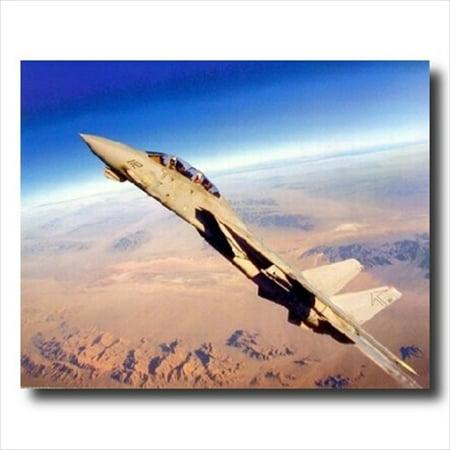 Grumman F-14 Tomcat Fighter Jet Wall Picture Art