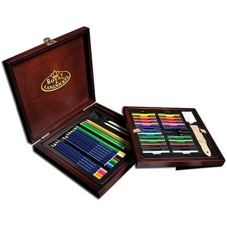 Royal & Langnickel Pencil Box Drawing Set, 49pc - Tattoo Drawings In Pencil