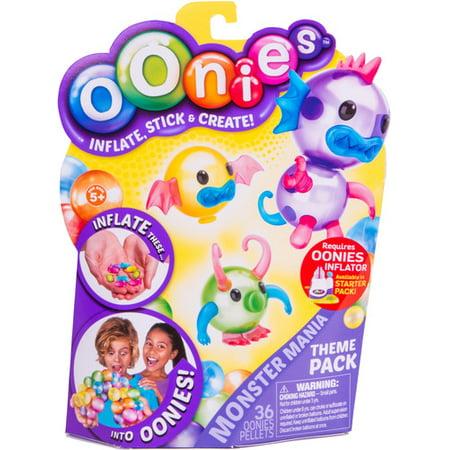 Oonies Theme Refill Pack Monster Mania