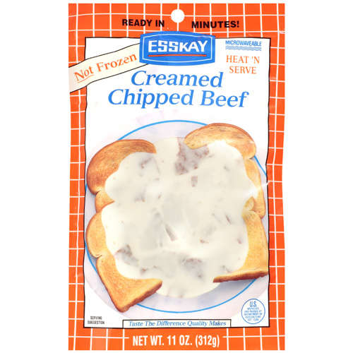 Esskay Creamed Chipped Beef, 11 oz