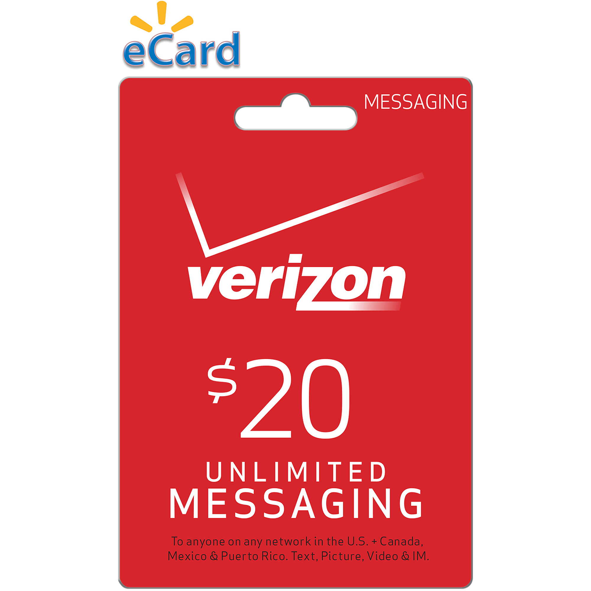 (Email Delivery) Verizon Wireless $20 Refill PIN for Prepaid Phones