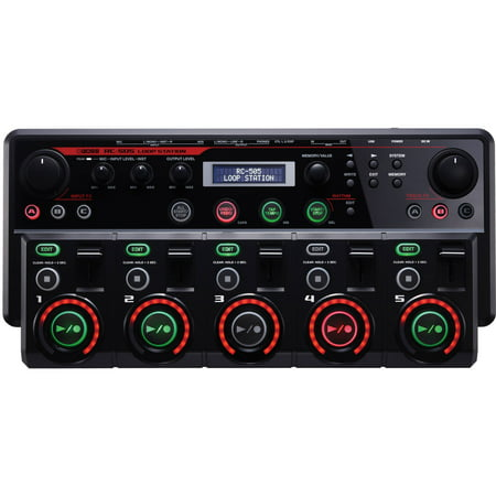 Boss Me25 Guitar - Boss RC-505 Guitar Effects 5 Stereo Phrase Tracks Tabletop Loop Station, Black
