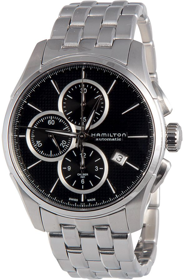 Hamilton Jazzmaster Chronograph Automatic Black Dial Mens Watch H32596131 by Hamilton