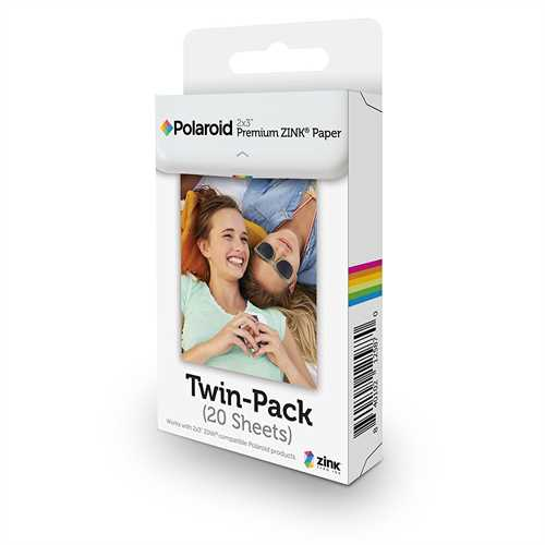 Polaroid 20-pack Paper For Zip And Icon