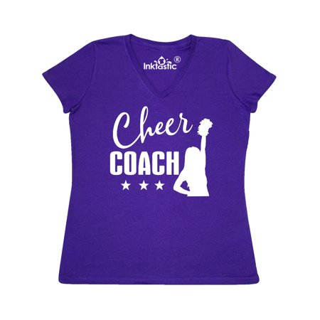 Cheer Coach Gift Idea Women's V-Neck T-Shirt for $<!---->