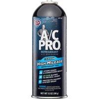 A/C Pro High Mileage Auto Air Conditioner Refrigerant, 134A, 12oz