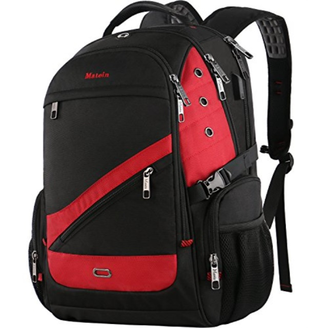 17 inch Large College School /& Travel Laptop Backpack MATEIN Outdoor Backpack