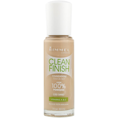 Rimmel Clean Finish Foundation, Sand
