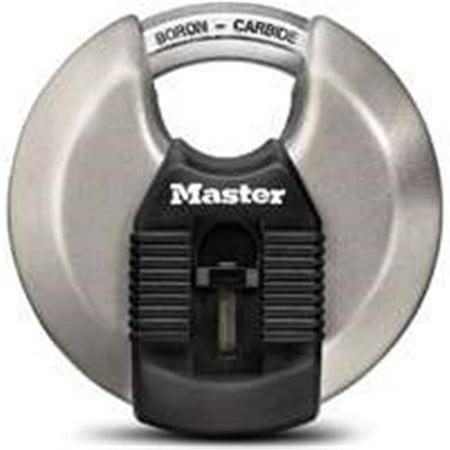 MASTER LOCK CO Magnum 3-1/8 Inch 80mm Disc Lock Padlock -