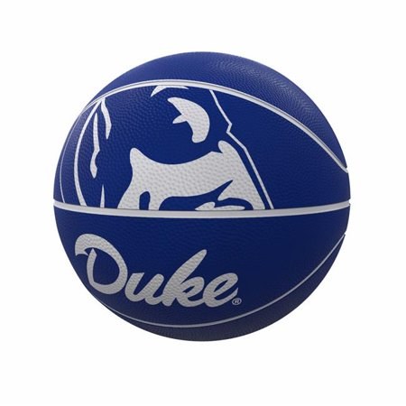 Logo Brands 130-91FR-1 Duke Mascot Official-Size Rubber Basketball - image 1 of 1