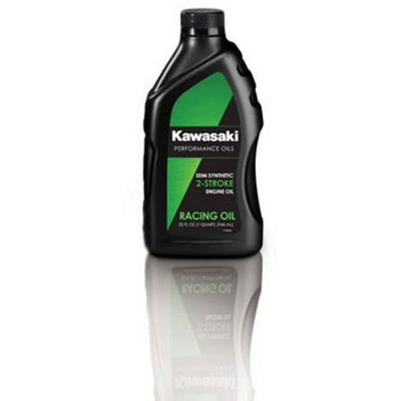 Kawasaki 2-Stroke Motorcycle Racing Oil 1 Quart K61021-208A ()