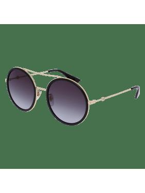 a50531ac2d990 Product Image Gucci GG0061S 001 Black Round Pilot Sunglasses
