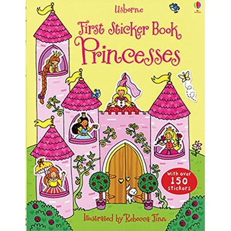 First Sticker Book Princesses By EDC Publishing Usborne Books From USA ()
