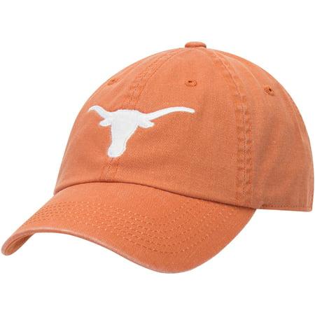Texas Longhorns Pigment Dye Adjustable Hat - Texas Orange - OSFA