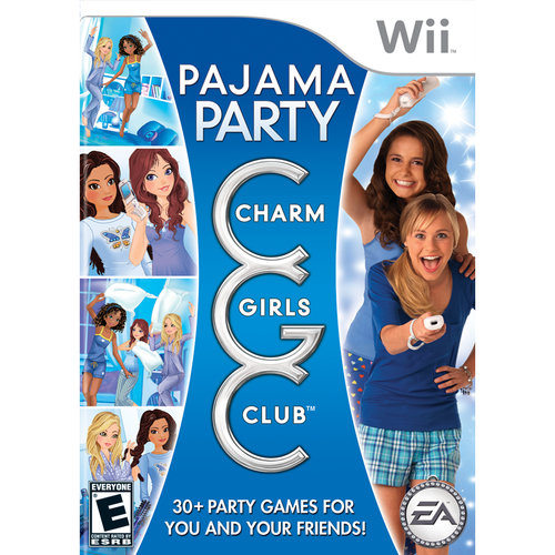 Electronic Arts Charm Girls Club: Pajama Party Nintendo Wii