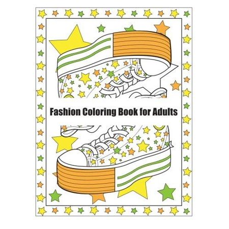 Fanciful Fashions Coloring Book For Adults