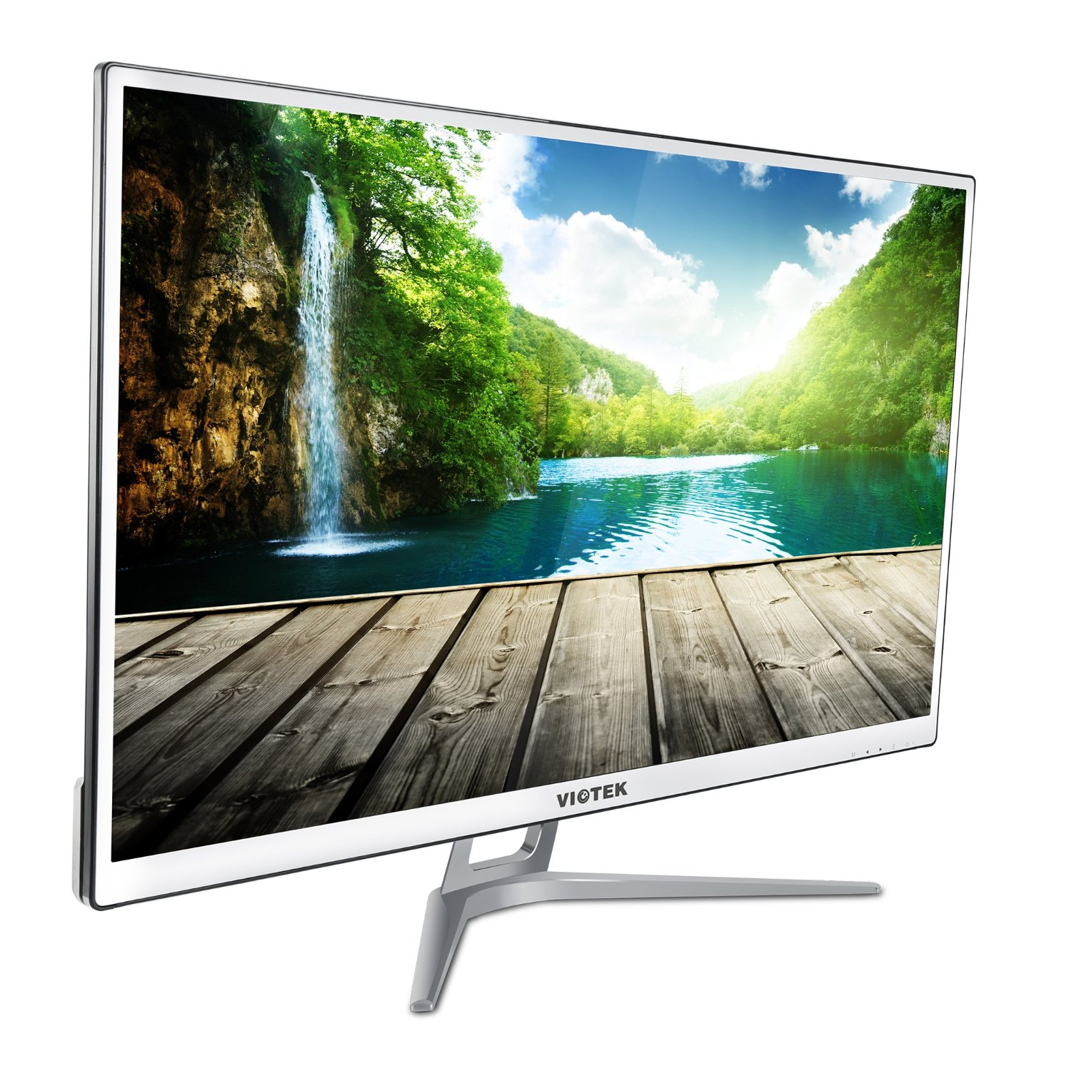 Viotek 32 inch LED Computer Monitor -1920x1080 Full HD, VGA DVI and HDMI, Model H320