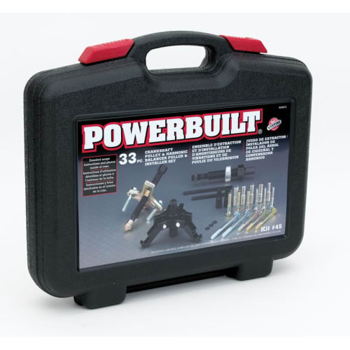 Powerbuilt 648616 Harmonic Balancer & Pulley Remover/Installer Kit