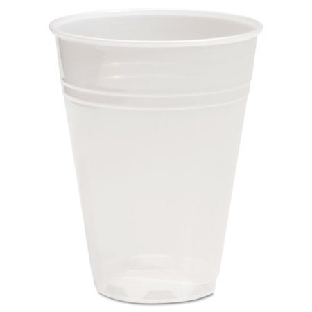 BoardWalk TRANSCUP7CT Translucent Plastic Cold Cups, 7oz, 100/Bag, 25 (Translucent Cold Cups)