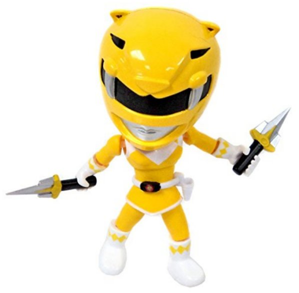 Mighty Morphin Power Rangers Yellow Loyal Subjects Series 1 Vinyl Figure